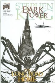 Dark Tower The Long Road Home #5 Sketch Variant Dynamic Forces Signed Lee DF COA #1 of 3 Marvel